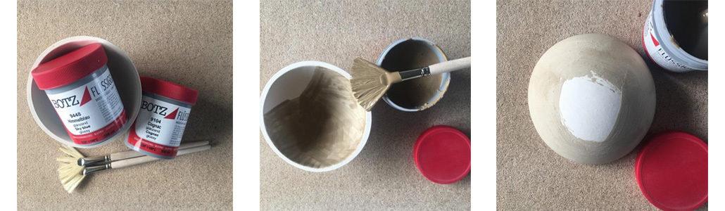 Anleitung Farbenfrohe Keramikschalen Mit Flüssigglasuren