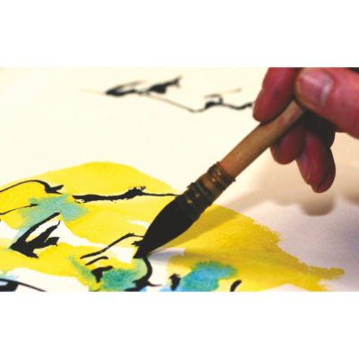 Aquarellmalerei Übung macht den Meister
