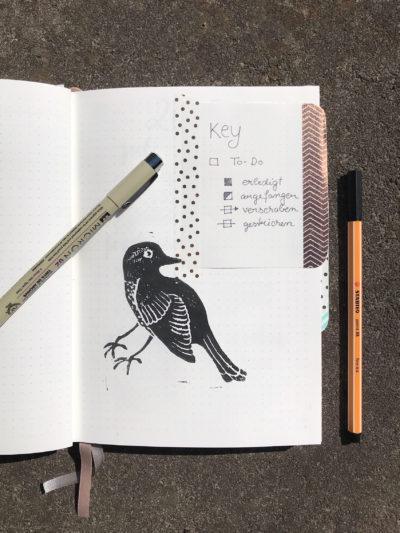 Bullet Journal mehr als nur um das Organisieren von Notizen und To-do-Listen