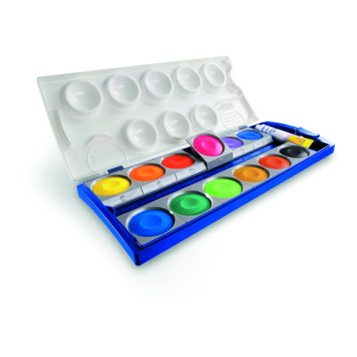 Wasserfarbe Deckfarbkasten vs Aquarellfarbe - worin besteht der Unterschied