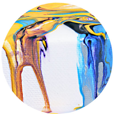 Pouring Gießtechnik in Acryl