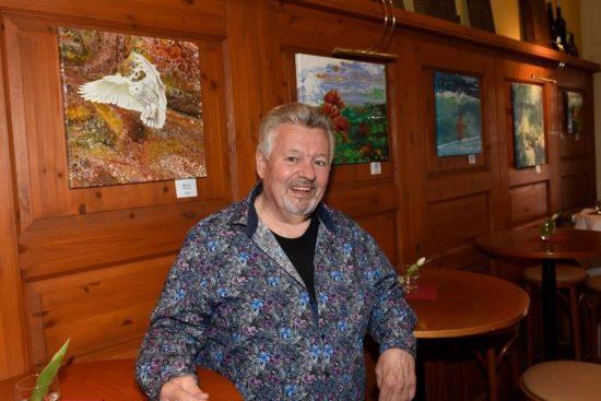 Wolfgang Graue Pouring Trifft Realistische Ölmalerei