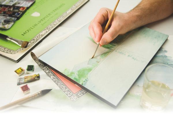 Aquarellmalerei ein paar einfache Regeln