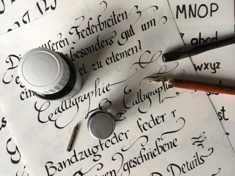 Einblicke in die Geheimnisse der Kalligrafie