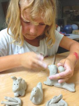 Basteln und Modellieren - Feinmotorik in der Grundschule