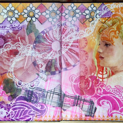 Susanne Absolon Mixed Media Journaling