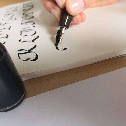 Kalligrafie - wie geht das?